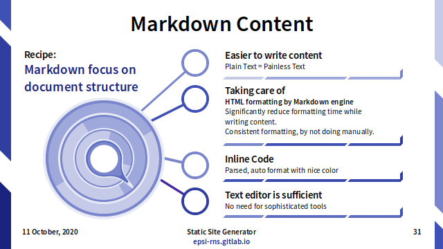 Slide - Markdown: Content