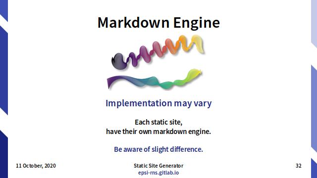 Slide - Markdown: Engine