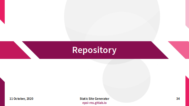 Slide - Repository