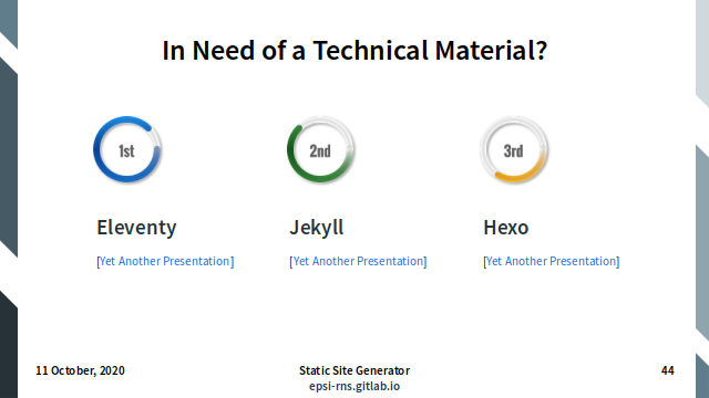 Slide - Technical Materials