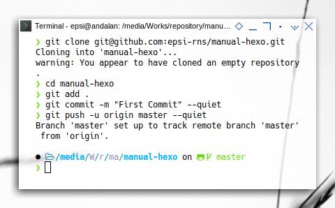 Git Hooks: Prepare Hexo