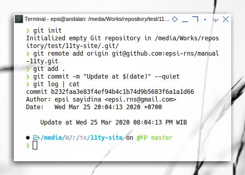 git refs: New Git Site Directory