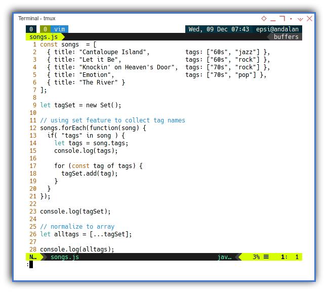 Babel: Example Ecmascript Source