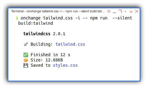 Tabs Component: Onchange Watch Tailwind
