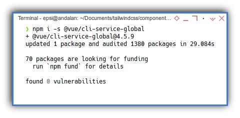 Vue2 App: NPM: Vue Service Install